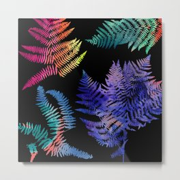 dreamy ferns Metal Print