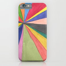Watercolor Pinwheel Robayre iPhone 6s Slim Case