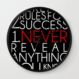 SUCCESS Wall Clock