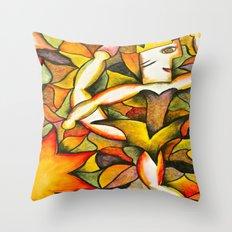 Dancer- Change of Season  Throw Pillow