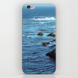Pacific Blue iPhone Skin