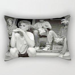 Golden girls minor threat Rectangular Pillow