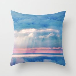 Celestial light Throw Pillow