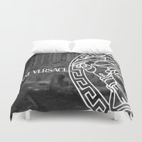 versace Duvet Covers featuring versace 3 by Beauti Asylum