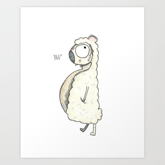 Sheep's Clothing Art Print