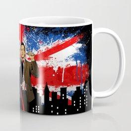British Tardis Selfie Coffee Mug