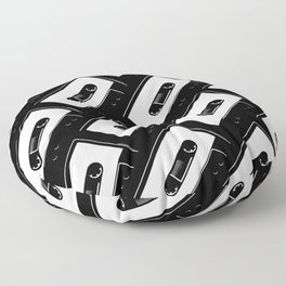Tape Floor Pillow