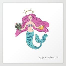 Mer-Maiden Art Print
