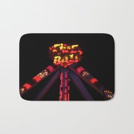 Fire Ball Bath Mat