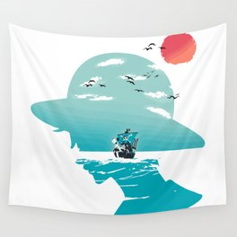 The King of Pirates Wall Tapestry
