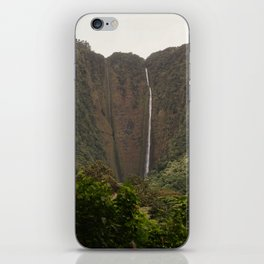 Hi'ilawe Falls iPhone Skin