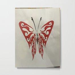 Valletyn butherfly Metal Print