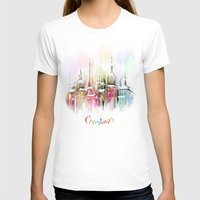 vienna T-shirts featuring Christmas in Vienna by tatiana-teni