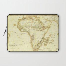 Map of Africa circa 1820 (Carte de l'Afrique) Laptop Sleeve