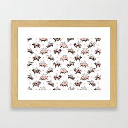 Flying Pigs Framed Art Print