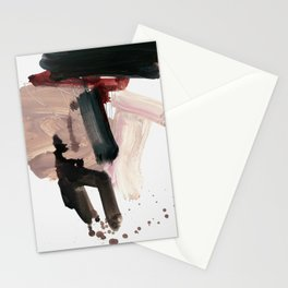gestural brushstrokes 02 Stationery Cards