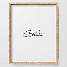 Bridesmaid, Bachelorette, Maid of Honor Wedding Serving Tray