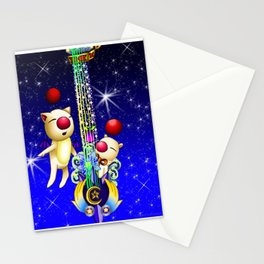 Fusion Keyblade Guitar #163 - Mogry of Glory & Star Seeker Stationery Cards