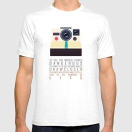 purpose of life T-shirt