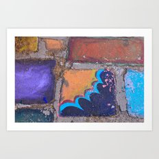 Chalk  Art Print