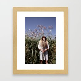 Alien Corn Framed Art Print
