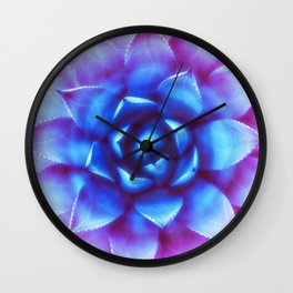 Agave Sunset Succulent Wall Clock
