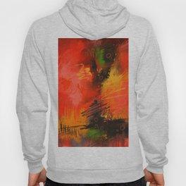 Agony digital abstract paintings Hoody