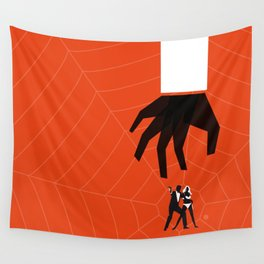 Orange Dr No Wall Tapestry