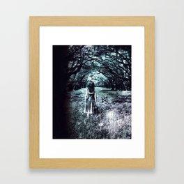A scary unknown by GEN Z Framed Art Print