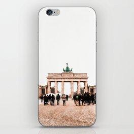 BRANDENBURG GATE iPhone Skin
