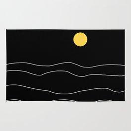 Black Ocean Rug