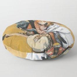 Cat Quartet Floor Pillow