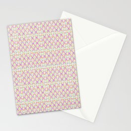 2307 Outlined pattern light mini ... Stationery Cards