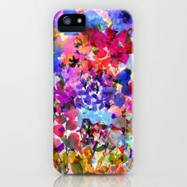 Jelly Bean Wildflowers iPhone Case