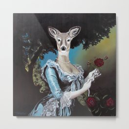 Oh My Deer Metal Print