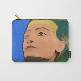 Ancient Relics: Nefertiti Carry-All Pouch