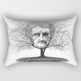 Edgar Allan Poe, Poe Tree Rectangular Pillow