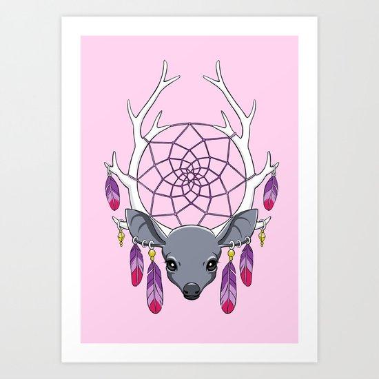 Dreamcatcher Art Print