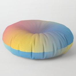 Abstract Gradient No. 11 Floor Pillow