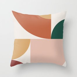 Abstract Geometric 13 Throw Pillow