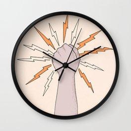 electro-hand Wall Clock