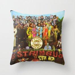 Sgt. Strimbu's Huey Joel Elite Band Throw Pillow