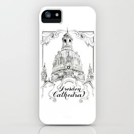 Dresden Cathedral iPhone Case