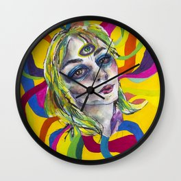 Amazing world of Kristin Wall Clock