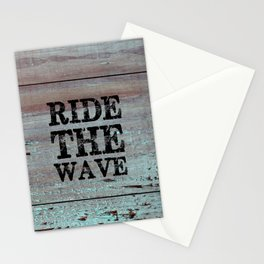 Ride The Wave Stationery Cards