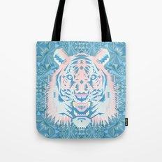 Pastel Quartz Tiger Tote Bag