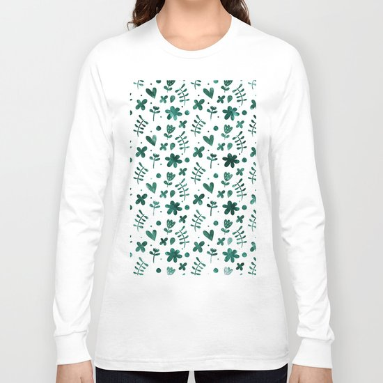 Colorful Lovely Pattern VII Long Sleeve T-shirt