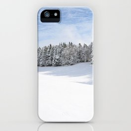 Charteuse Mountain2 iPhone Case