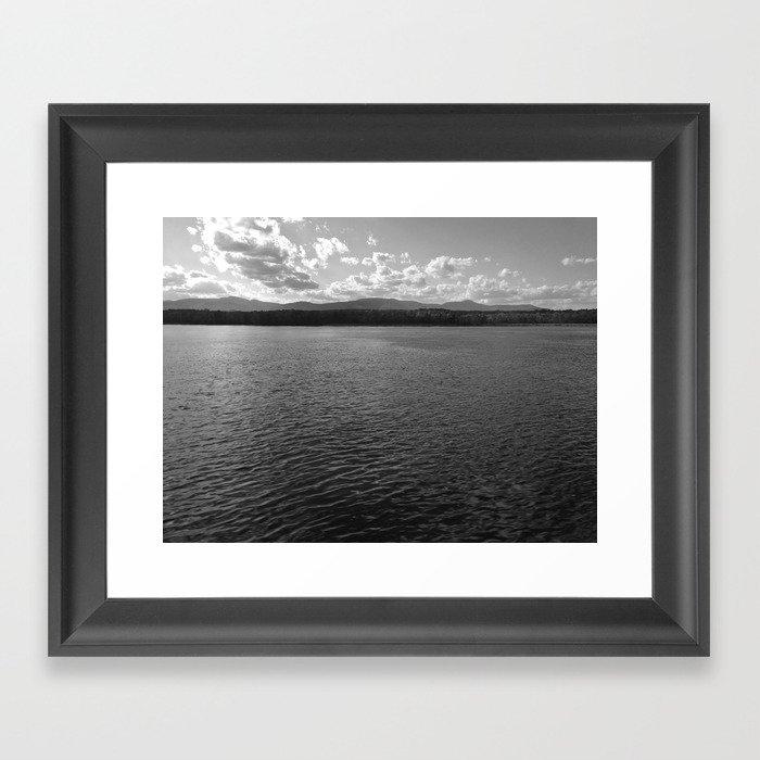 Hudson River Framed Art Print
