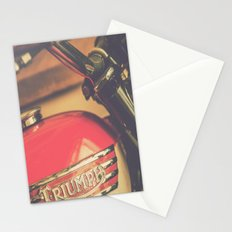 Vintage Triumph Bonneville Motorcycle Stationery Cards